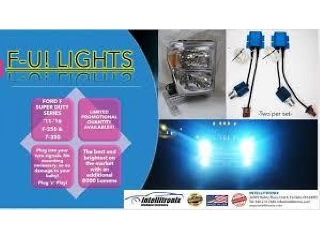 Order Head Turning Super Duty Headlights Online - 1