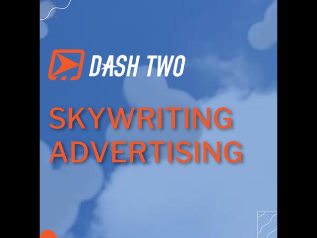 Skywriting Advertisement | Dash Two - 1